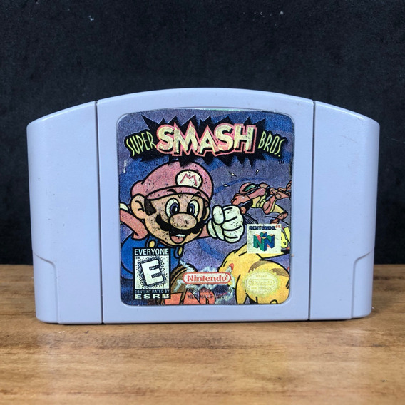 Super Smash Bros 64 Nintendo 64 Relabel Original C/ Garantia