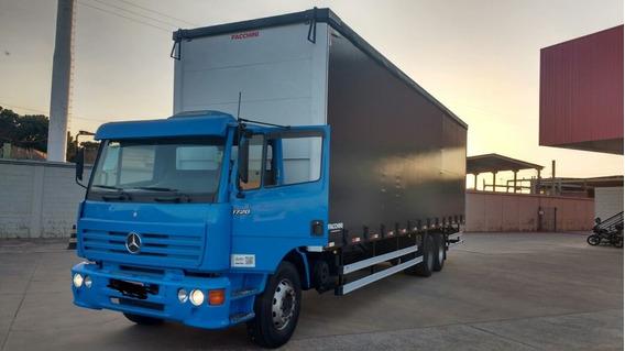 Mercedes Benz 1720 Truck Sider 11metros