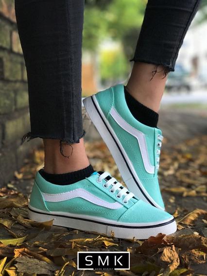Zapatillas Skater Lona 5 Colores - La Mas Buscadas Oferta