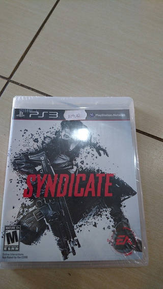Jogo Paystation 3 Syndicate