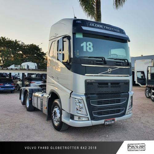 Caminhão Volvo Fh460 Ishift Globetrotter 6x2 2018 - Fh 460