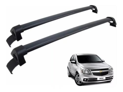 Barras De Techo Negra Chevrolet Agile