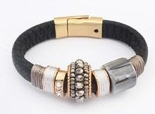 Bracelete Ou Pulseira Novo Design De Moda Várias Cores