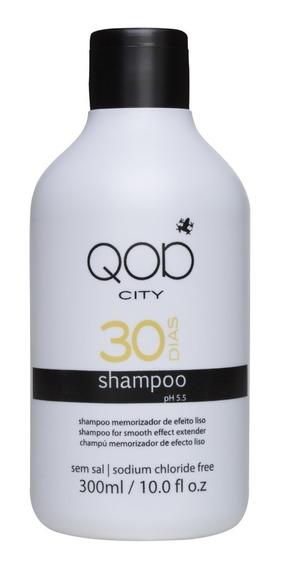 Shampoo+cond 300 Ml Qod 30 Dias Liso (promoção De Fabrica)