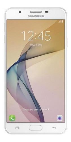 Imagem 1 de 4 de Celular Samsung Galaxy J7 Prime Dourado Bom Usado