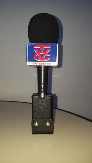 Protetor De Couro -transmissor Utx -p2 Microfone Sony Uwp V6