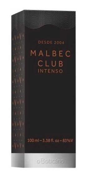 Malbec Club Intenso Desodorante Colônia 100ml