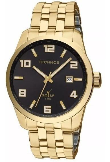 Relógio Technos Classic Golf Dourado 2315yj/4p Original