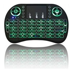 Mini Teclado Retroiluminado S/ Fio C/ Touchpad 92 Teclas