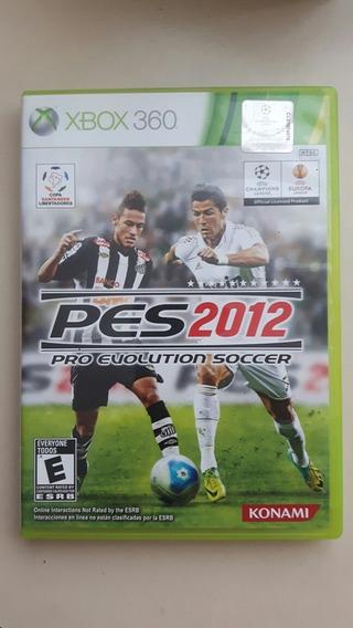 Futebol Pes 2012. Xbox 360. Original. Pro Evolution Soccer