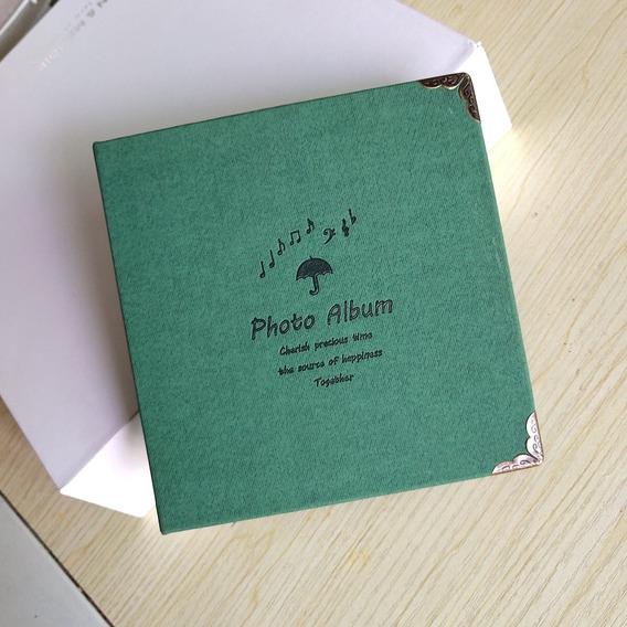 Album Scrapbook Caderno 15 X 15 Cm Várias Cores Fotos Fuji