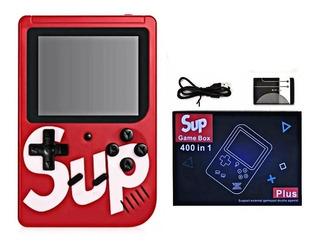 Mini Consola Nintendo Sup 11cm De Bolsillo 400 En 1 Colores