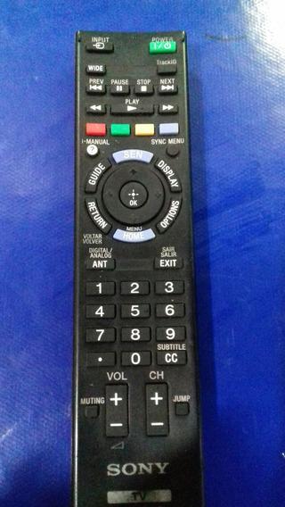 Controle Da Tv Sony Da Empresa Vários Modelos