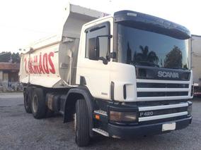 Scania P 124 6x4 420 Traçado