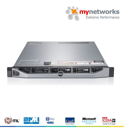 Servidor Dell Poweredge R620 (dual Deca Core / 32gb Ram)