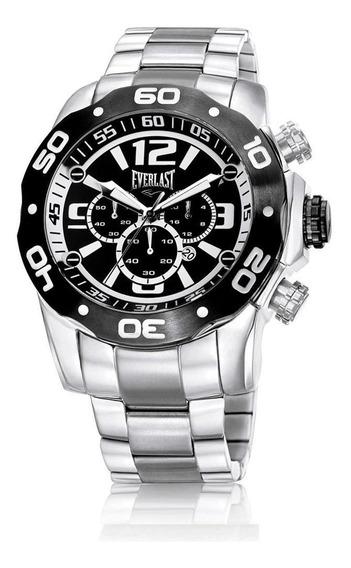 Relógio Pulso Everlast Com Calendário Masculino E548