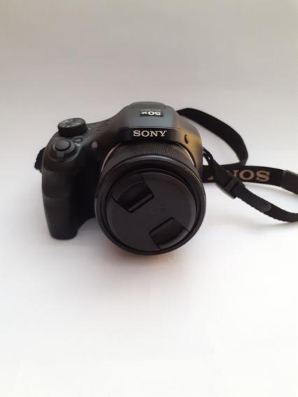 Câmera Sony Cyber-shot Hx-300, 20 Megapixels