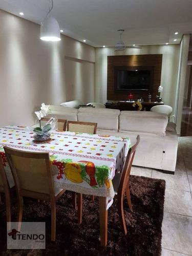 Apartamento 105 M² - Venda - 3 Dormitórios - 3 Suítes - Santa Paula - São Caetano Do Sul/sp - Ap2275