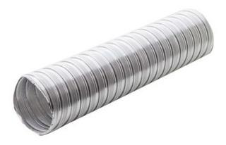 Caño Ventilación Corrugado Aluminio 3 Pulgadas X Metro