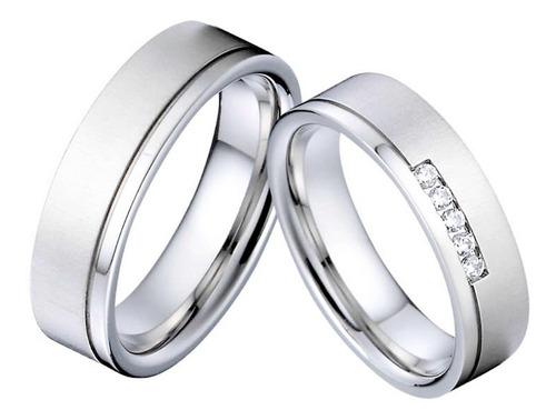 Imagen 1 de 6 de Preciosas Argollas De Matrimonio En Oro 10k Envío Gratis