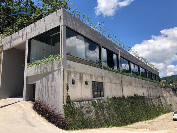 Galpão Para Alugar, 500 M² - Bingen - Petrópolis/rj - Ga0002