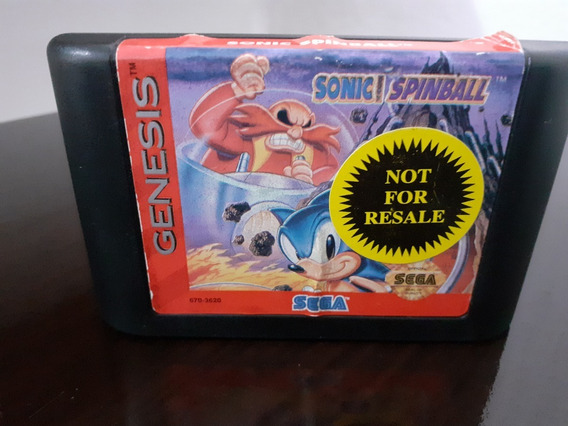 Sonic Spinball - Sega Genesis Original Loose #1
