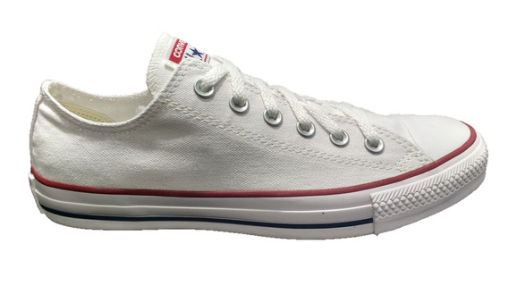 Tênis Converse All Star Tradicional Branco Ct00010001