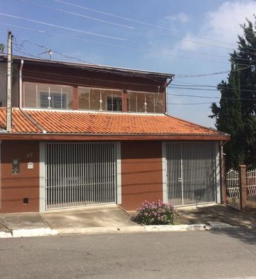 Excelente Sobrado 6 Dormitórios Permuta 300 M² Construção - 8647