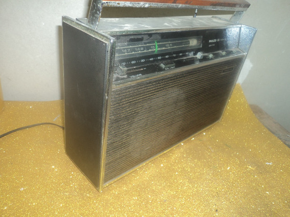Radio Philco Transglobo 9 F/ Antigo Am Fm ///precisa Revisao