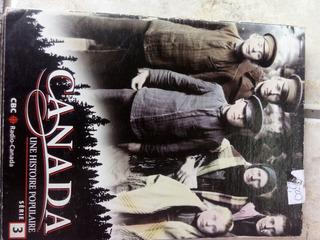 Canada Une Histoire Populaire Dvd Seirie 3 Cbc