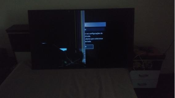 Tv Samsung 55 Polegadas Tela Quebrada