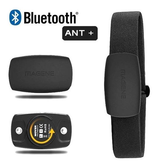 Cinta Frequência Cardíaca Bluetooth Ant Padrão Garmin Strava