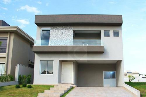 Casa Com 4 Dormitórios À Venda, 360 M² Por R$ 2.600.000,00 - Residencial Duas Marias - Indaiatuba/sp - Ca1453