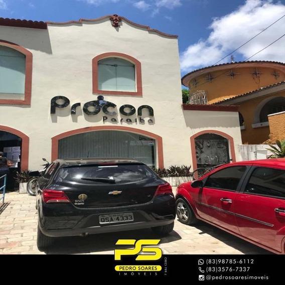 Ponto Para Alugar, 500 M² Por R$ 18.000/mês - Centro - João Pessoa/pb - Pt0021