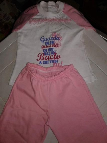 Pijama Niña Talla 2 Perfecto Estado