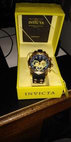 Relogio Invicta Pro Diver 23426 Original Banhado A Ouro