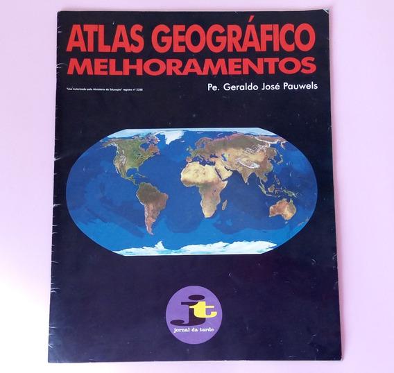 Atlas Geográfico Melhoramentos Jornal Da Tarde 1994