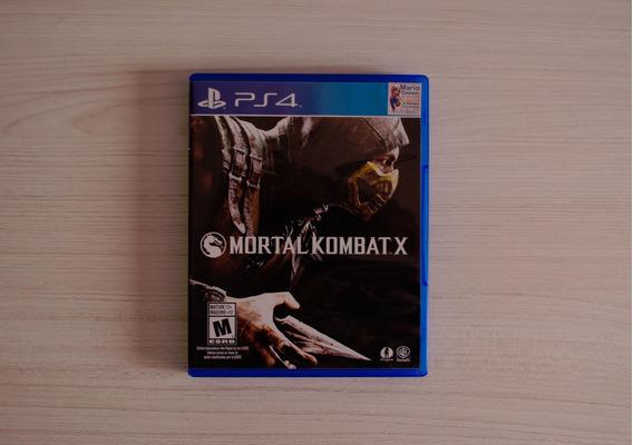 Jogo Mortal Kombat X Ps4 Usado
