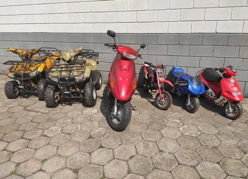 Lote Mini Moto Quadriciclo Scooter Cross Speed