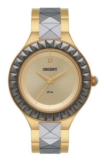 Relógio Orient Feminino Bicolor Cerâmica 32511