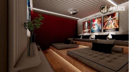 Apartamento Com 3 Dormitórios À Venda, 118 M² Por R$ 900.000,00 - Canto Do Forte - Praia Grande/sp - Ap1184