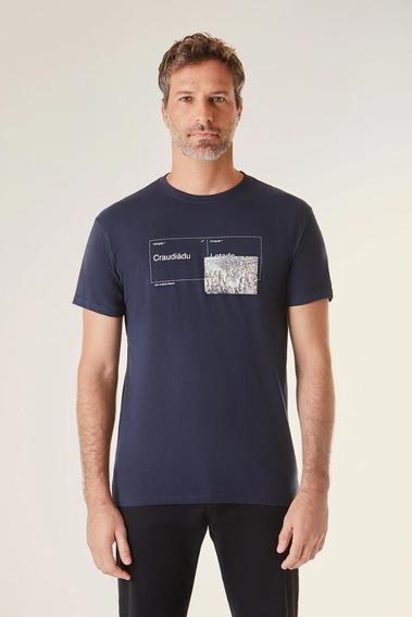 Camiseta Estampada Craudiadu Vj Reserva