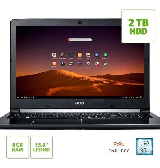 Notebook Acer Aspire 5 A515-51-74za Intel® Core I7-7500u 8g