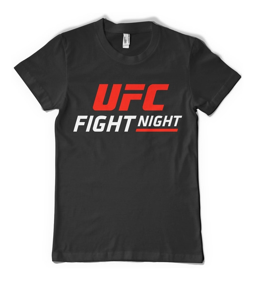 Remeras Ufc Fight Night Ultimate Champion Fitness Crossfit