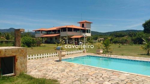 Casa Com 3 Dormitórios À Venda, 160 M² - Caxito - Maricá/rj - Ca3290