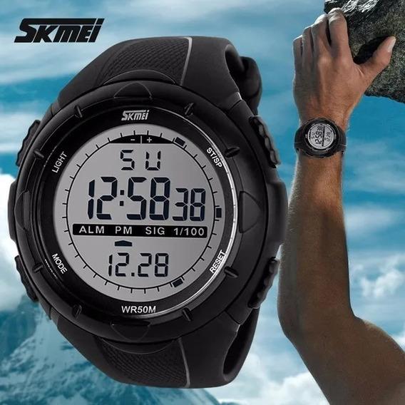 Relógio Masculino Esportivo Digital Skmei A Prova D Água Top