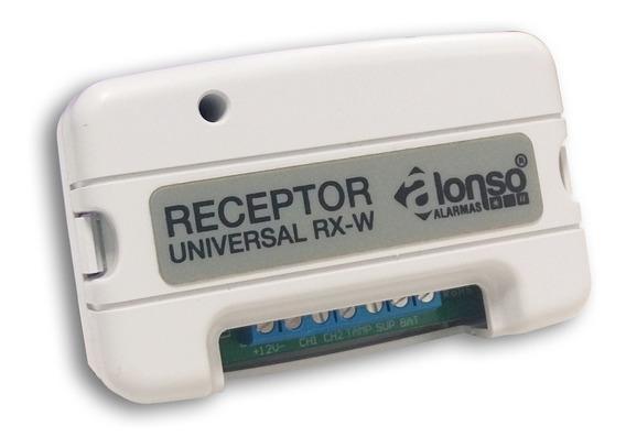 Receptor Universal De 2 Ch Compatible Con Tecnología Alonso