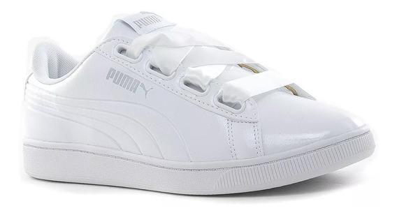 Puma Zapatillas Lifestyle Mujer Vikky V2 Ribbon Blanco