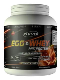 Clara De Huevo Egg + Suero Leche 2 Kg Pulver Deshidratado