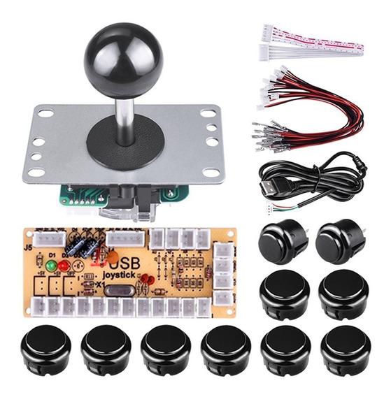 Kit Controlador Arcade Para Rapsberry Pi